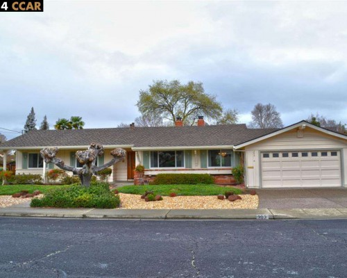 393 Warwick Dr, Walnut Creek CA