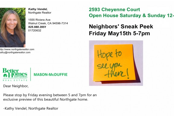 Preview open house tonight, 5-7pm!
